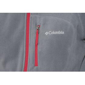 Columbia Fast Trek II Jas Heren grijs/rood